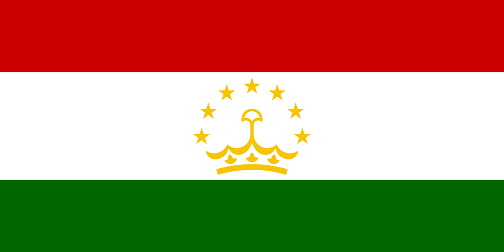 Flaga kraju TADŻYKISTAN [PNG]