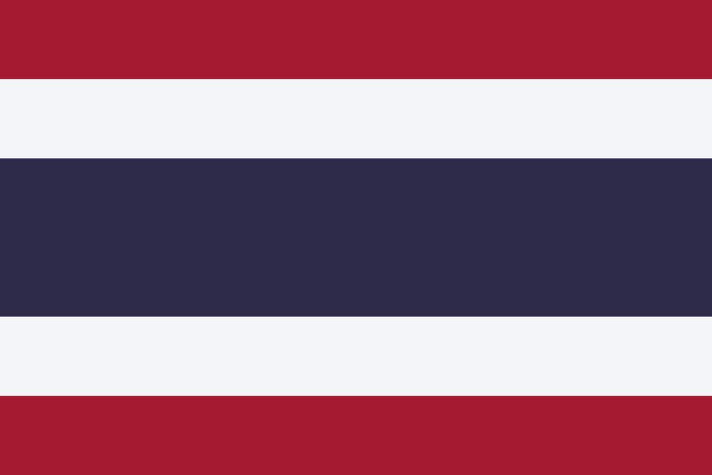 Flaga kraju TAJLANDIA [PNG]