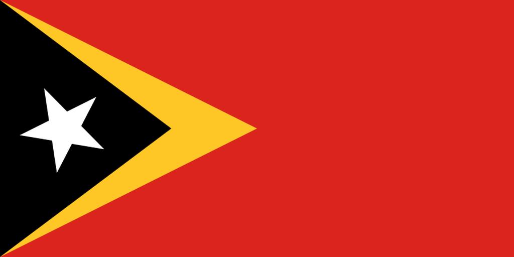 Flaga kraju TIMOR WSCHODNI [PNG]