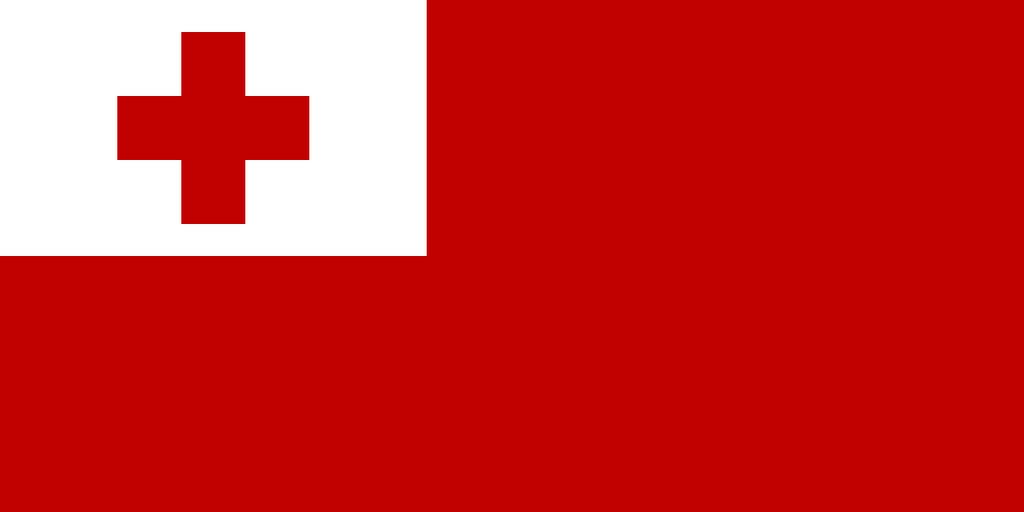 Flaga kraju TONGA [PNG]