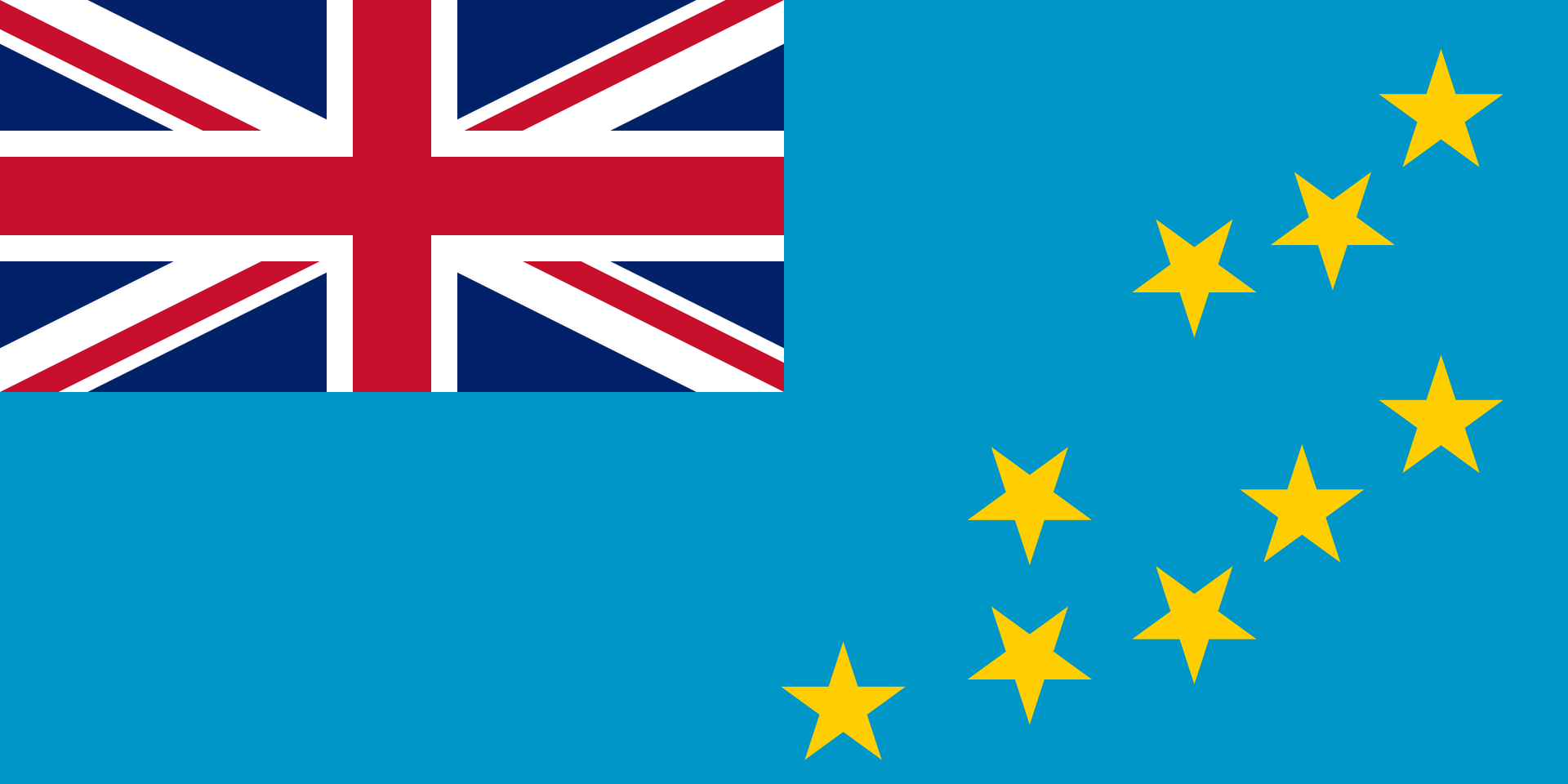 Flaga kraju TUVALU [PNG]