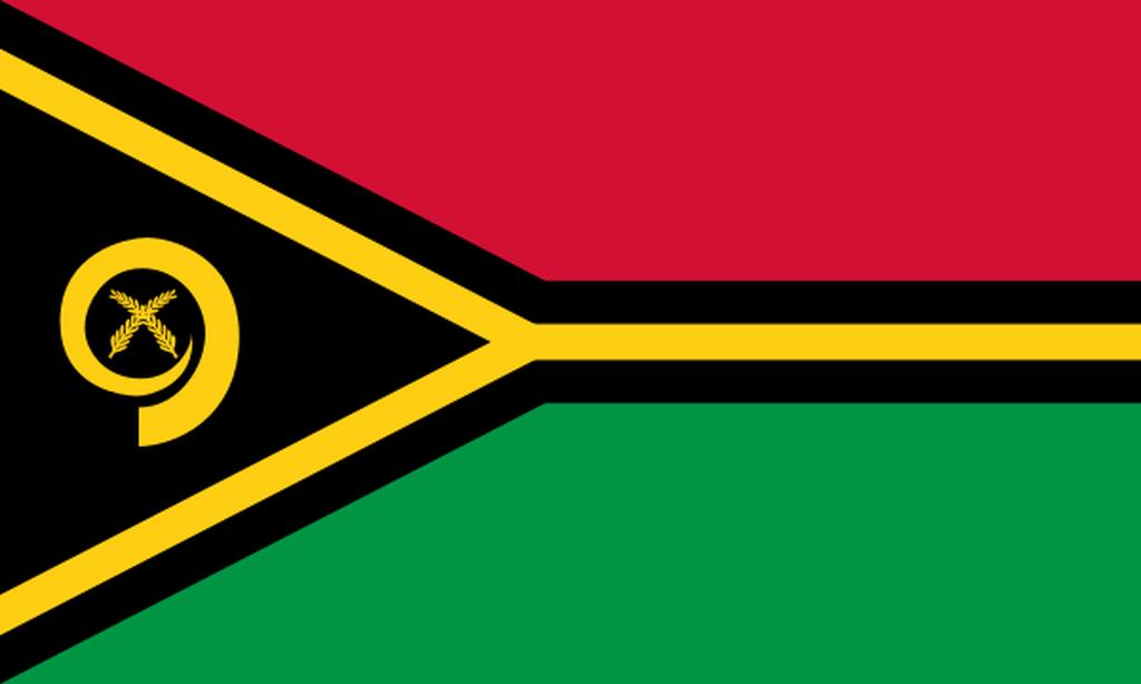 Flaga kraju VANUATU [PNG]
