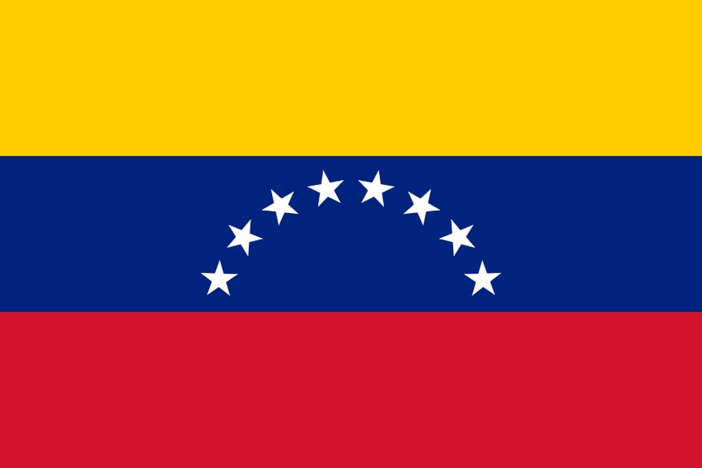 Flaga kraju WENEZUELA [PNG]