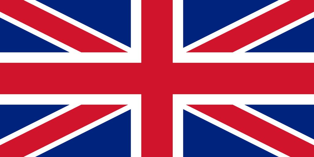 Flaga kraju WIELKA BRYTANIA [PNG]