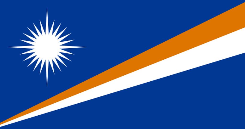 Flaga kraju WYSPY MARSHALLA [PNG]