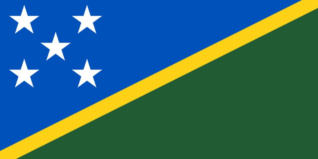 Flaga kraju WYSPY SALOMONA [PNG]