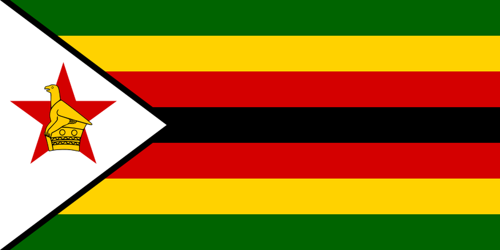 Flaga kraju ZIMBABWE [PNG]